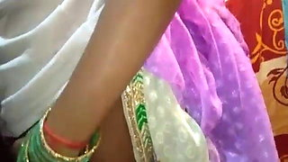 just married bride Saree in full HD desi video home
