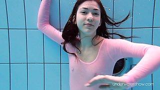 Pink body bikini Roxalana showing her wet form