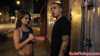 Gorgeous teen banged in doggystyle