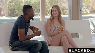 BLACKED Huge Ass Takes Her Neighbor's BBC