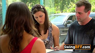 Swinger couple is eager to party hard