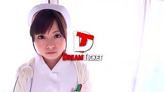 Exotic Japanese chick Hirono Imai in Amazing Nurse, Stockings JAV clip