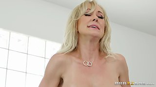 brandi love gets fucked reverse cowgirl style on the gym bench