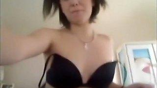 Schoolgirl Jess Masturbates and Enjoys Panty Stuffing