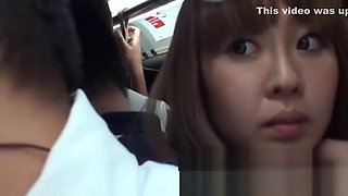 Erotic Youngster In A Bus