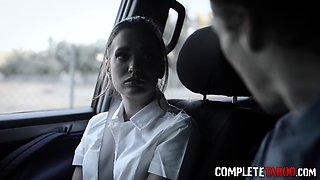 Taboo teen gets railed