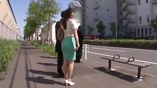 Miki bus sex skirt ass bukkake