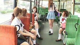Best Japanese chick Ayaka Kasagi, Ren Hitomi in Horny Teens, Public JAV scene