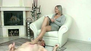 Crazy homemade Fetish, Foot Worship porn scene