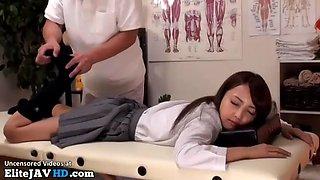 japanese schoolgirl massage goes too far