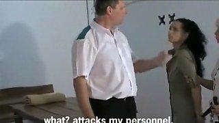 Amazing amateur European, BDSM porn clip